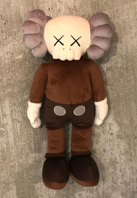 KAWS, 'KAWS brown Plush Companion ', 2019, Other, Plush figurine, Shout Arthub & Gallery
