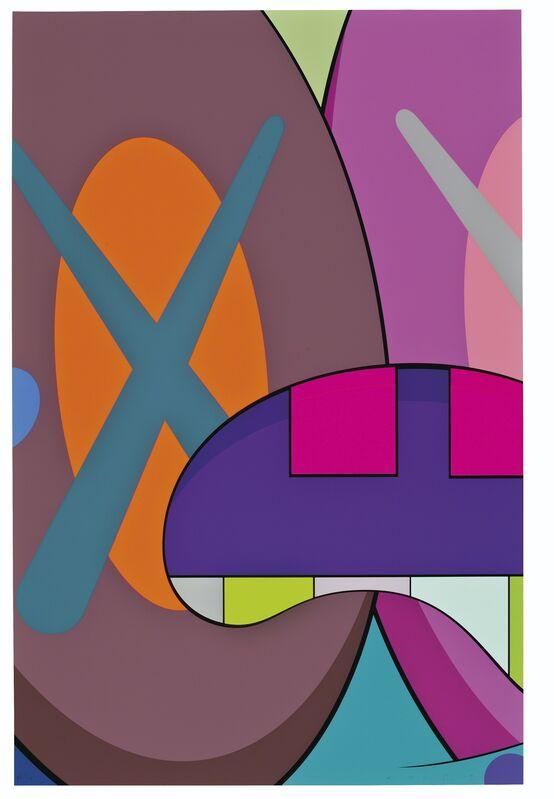 KAWS, 'Ups and Downs', 2013, Print, Silkscreen on paper, Gin Huang Gallery