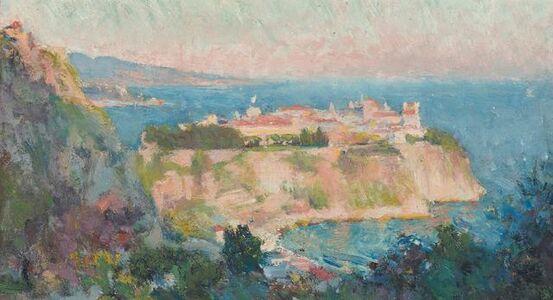 Robert William Vonnoh, 'The Rock of Monaco'