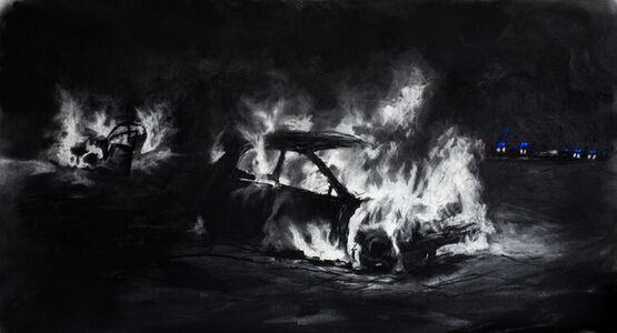 Themba Khumalo, 'Burning and Looting', 2019