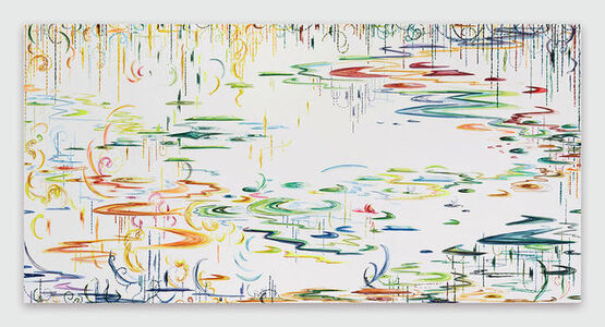 Kysa Johnson, 'blow up 404(a) - Crude (life) - phytoplankton after Monet', 2019