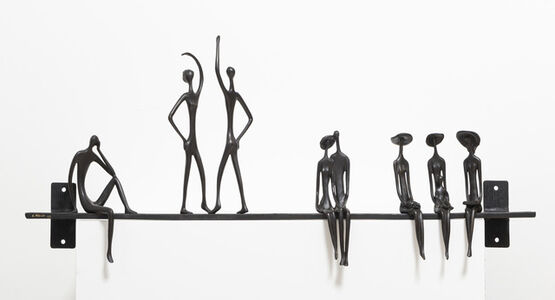 Ruth Bloch, 'Wall Sculpture Long', ca. 2010