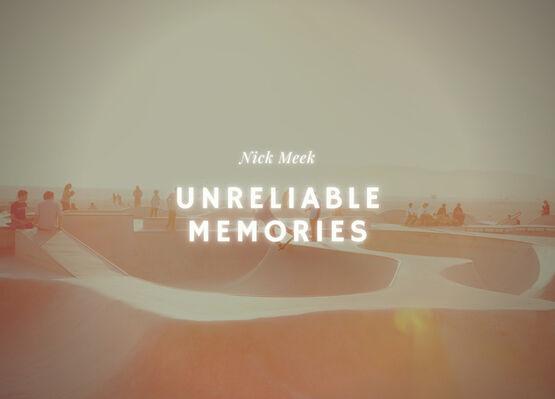 Nick Meek: Unreliable Memories, installation view