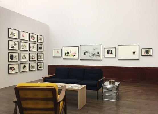 V1 Gallery at Market Art Fair 2019, installation view