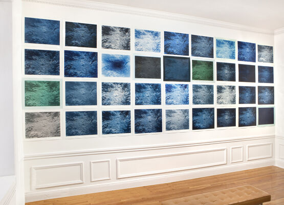 YOJIRO IMASAKA: Correspondence - A benefit for Covid 19 medical workers, installation view