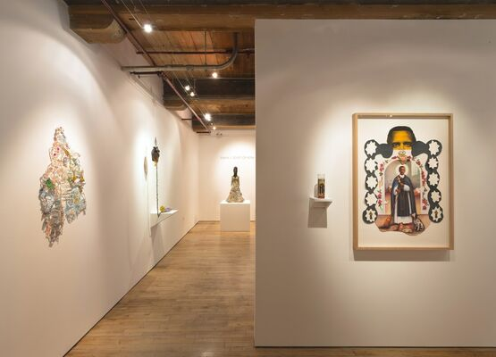 Joyce J. Scott: On Kilter, installation view