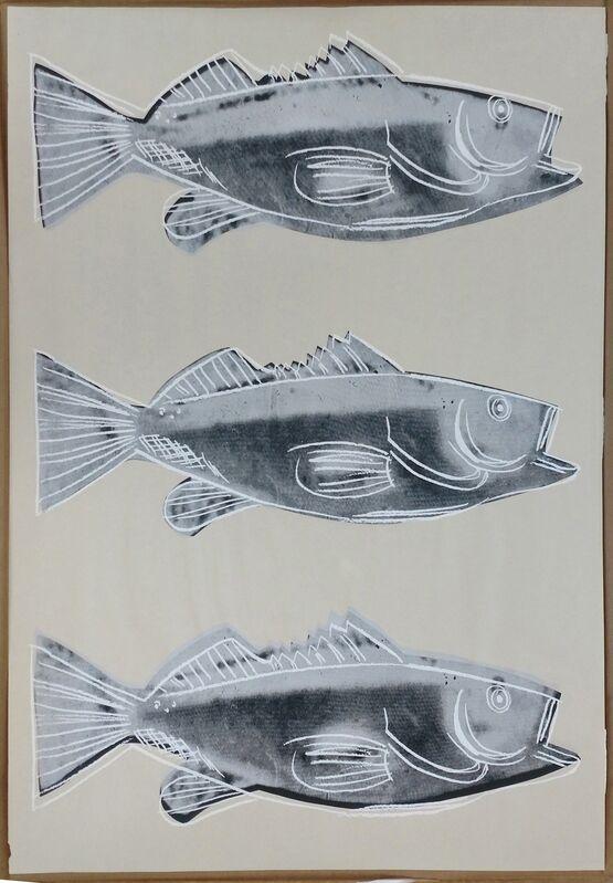 Andy Warhol, 'FISH FS IIIA.39', 1983, Print, SCREENPRINT ON WALLPAPER, Gallery Art
