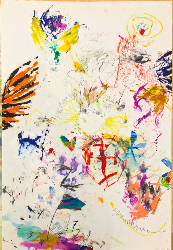 Ford Crull, 'Yesterday, Today and Tomorrow', 2015, Drawing, Collage or other Work on Paper, Oil, oil stick, graphite on paper, Cross Contemporary Partners