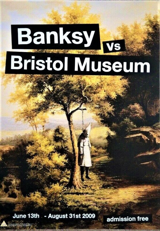 Banksy, 'Bristol Museum official poster', 2009, Ephemera or Merchandise, Original poster from 2009 of the most famous Banksy exhibition, AYNAC Gallery