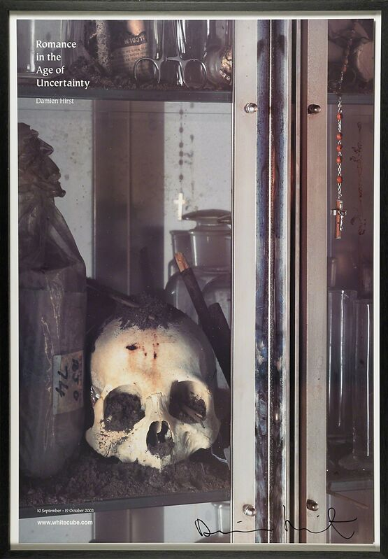 Damien Hirst, 'Romance in the Age of Uncertainty', 2003, Print, Offset lithograph poster, Rago/Wright