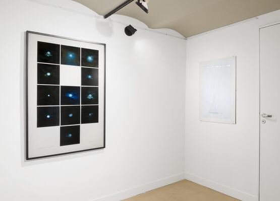 Leandro Katz: Entre dos citas, installation view