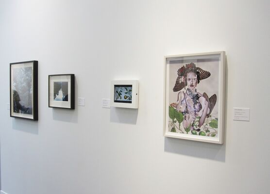 MIYAKO YOSHINAGA at Paris Photo 2017, installation view