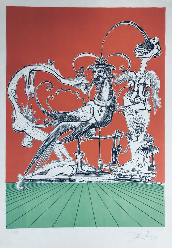 Salvador Dalí, 'Gastronomes Cannibals', 1973, Drawing, Collage or other Work on Paper, Lithograph, Dali Paris