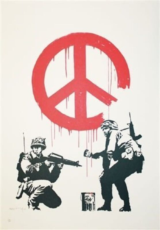 Banksy, 'CND', 2005, Print, Screenprint on paper., Neon Gallery