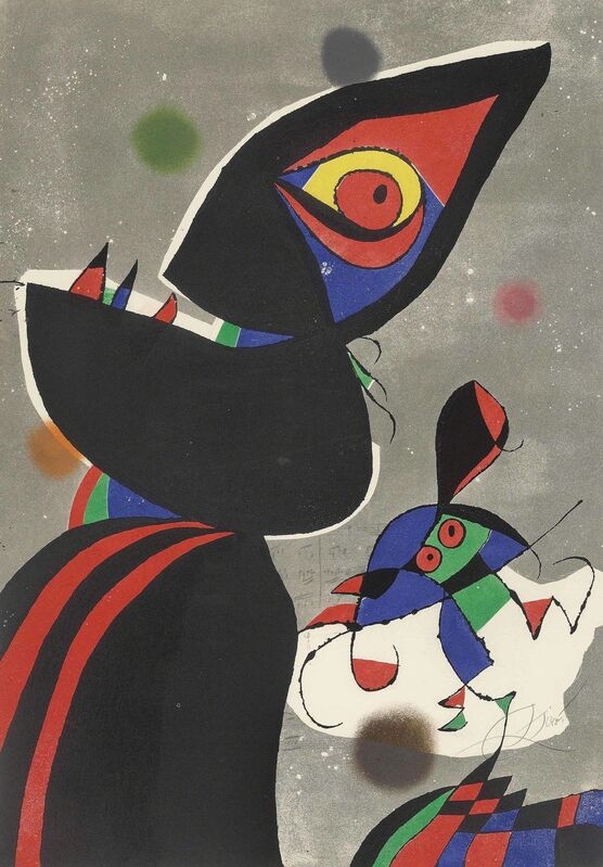 Joan Miró, 'Gaudí XVII', 1979, Print, Etching and aquatint in colours on Arches wove paper, Christie's