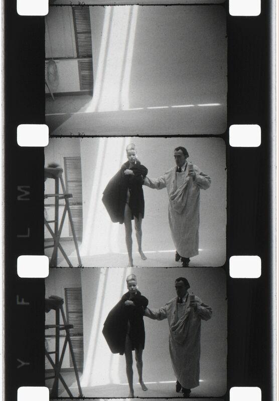 Jonas Mekas, 'Salvador Dali and Nena von Schlemberugge, NYC, 1964', 2013, Photography, Archival Photographic Print, Deborah Colton Gallery