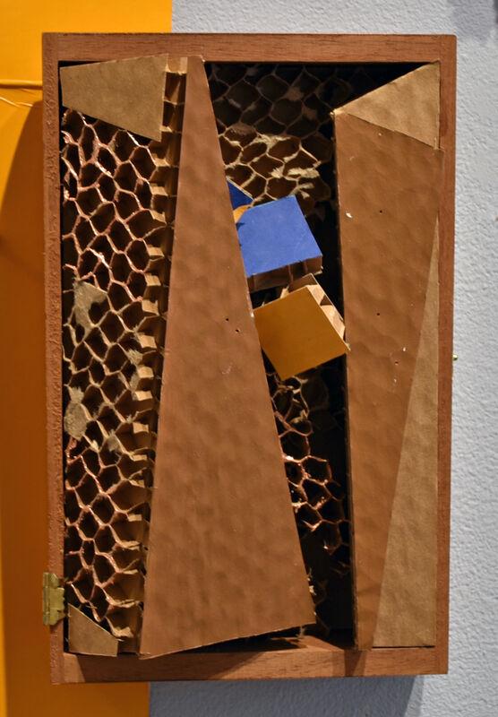 Elisabeth Jacobsen, 'When One Door Closes', 2021, Sculpture, Honeycomb Cardboard, Polyacrylic, Carter Burden Gallery