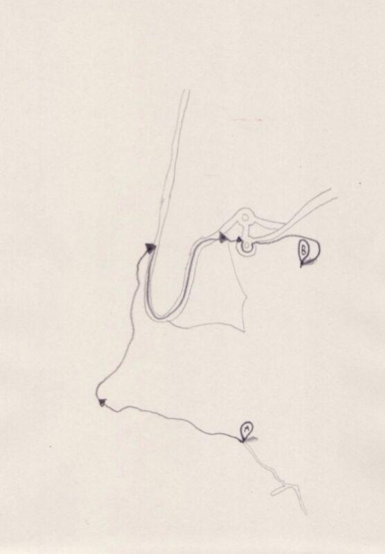 Fermín Jiménez Landa, 'El Nadador', 2013, Drawing, Collage or other Work on Paper, Galería Bacelos