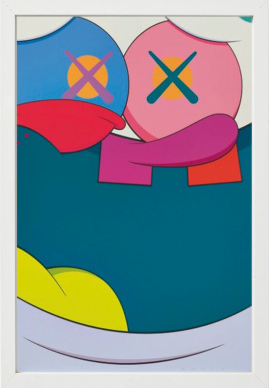 KAWS, 'Blame Game ', 2014, Print, Screenprint on Saunders Waterford 410gsm High White Paper accompanied by portfolio, Dallas Collectors Club