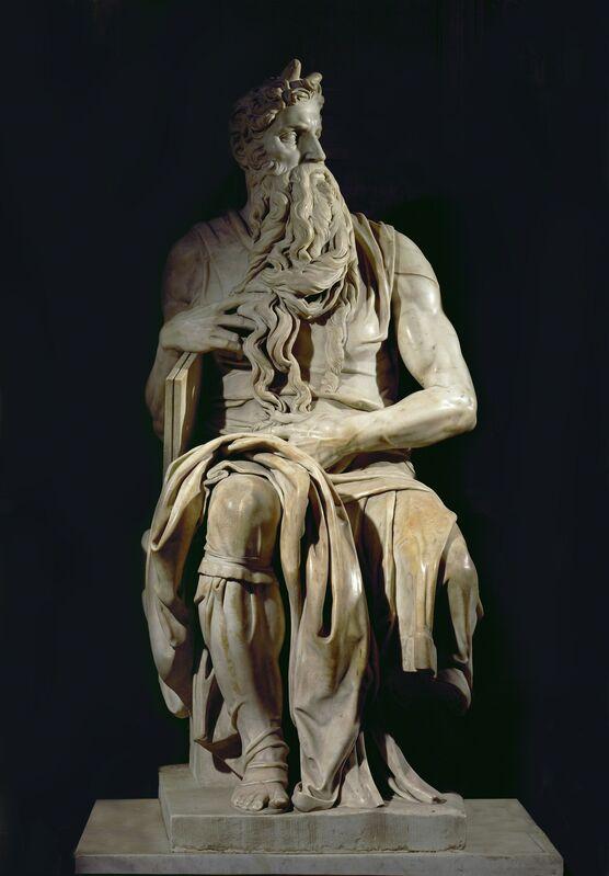 Michelangelo Buonarroti, 'Moses', ca. 1513-1515, Sculpture, Marble, Erich Lessing Culture and Fine Arts Archive