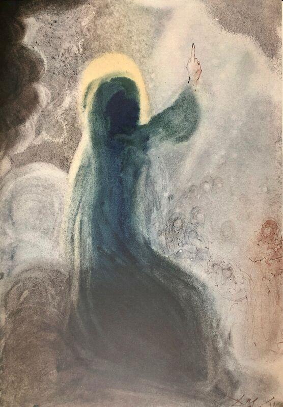 Salvador Dalí, 'Happiness, 'Beati', Biblia Sacra', 1967, Print, Original Lithograph, Inviere Gallery