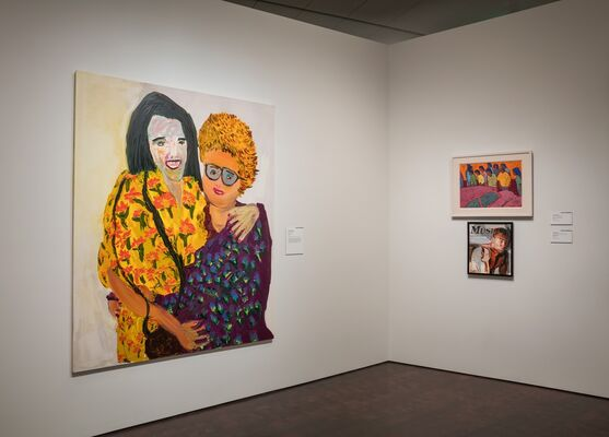 Audacious: Contemporary Artists Speak Out, installation view