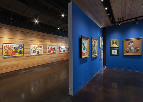 NORMAN ROCKWELL - The Artist at Work, installation view