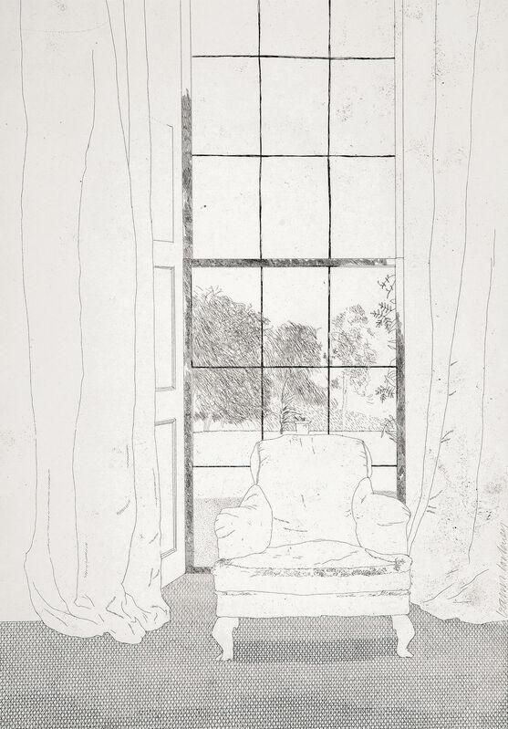 David Hockney, 'Home', 1969, Print, Etching, Gerrish Fine Art