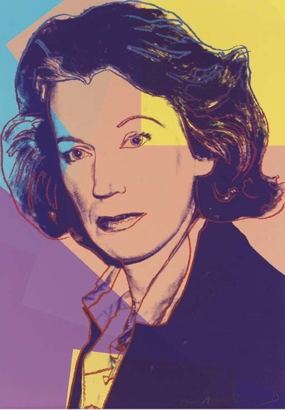 Andy Warhol, 'Mildred Scheel', 1980, Print, Screenprint in colours on Arches, Zeit Contemporary Art