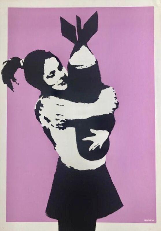 Banksy, 'Bomb Hugger', 2003, Print, Screenprint in colours on wove paper., HOFA Gallery (House of Fine Art)