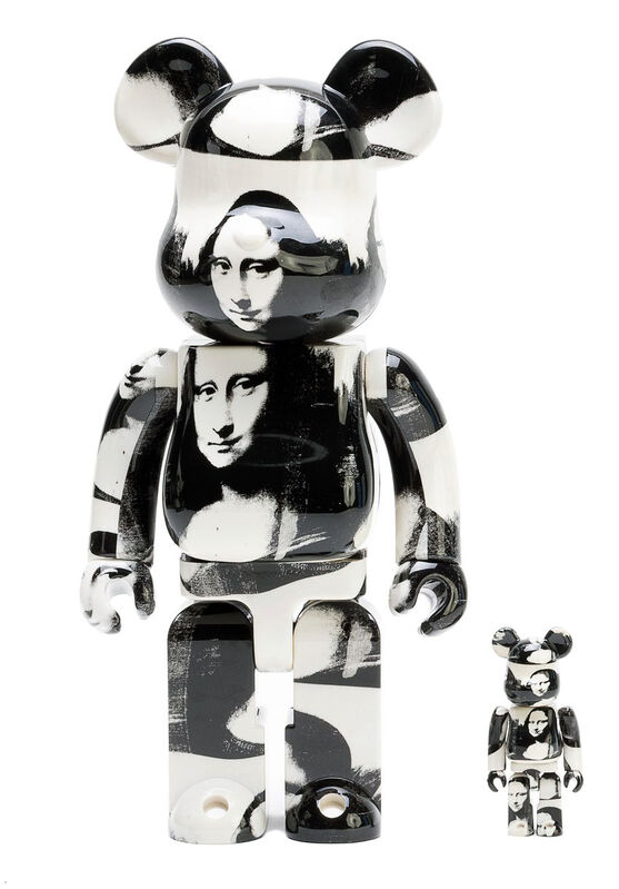 Andy Warhol, 'Andy Warhol Mona Lisa Bearbrick 400%', 2019, Ephemera or Merchandise, Painted vinyl cast resin, Lot 180