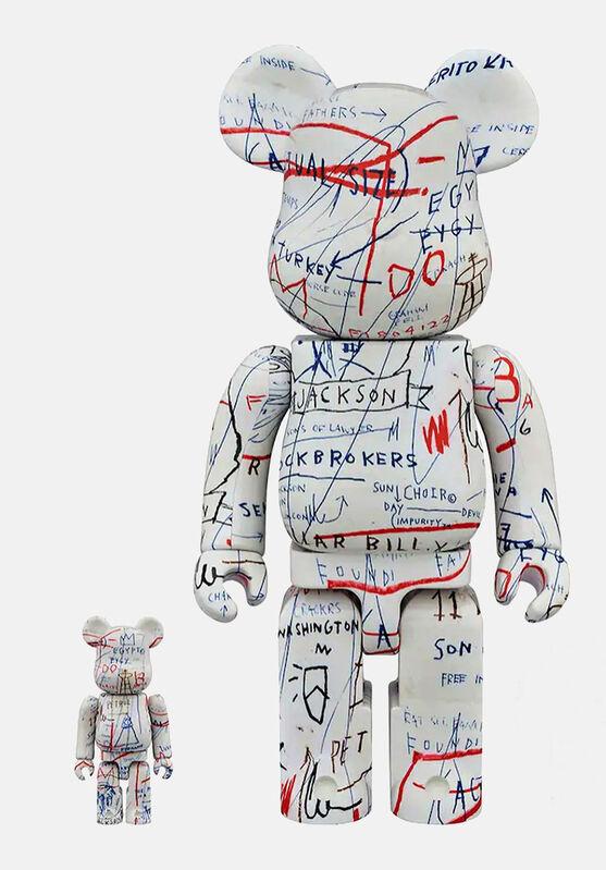 Jean-Michel Basquiat, 'Basquiat Bearbrick 400% Companions Set of 2 (Basquiat BE@RBRICK)', ca. 2019, Ephemera or Merchandise, Vinyl Figurines, Lot 180