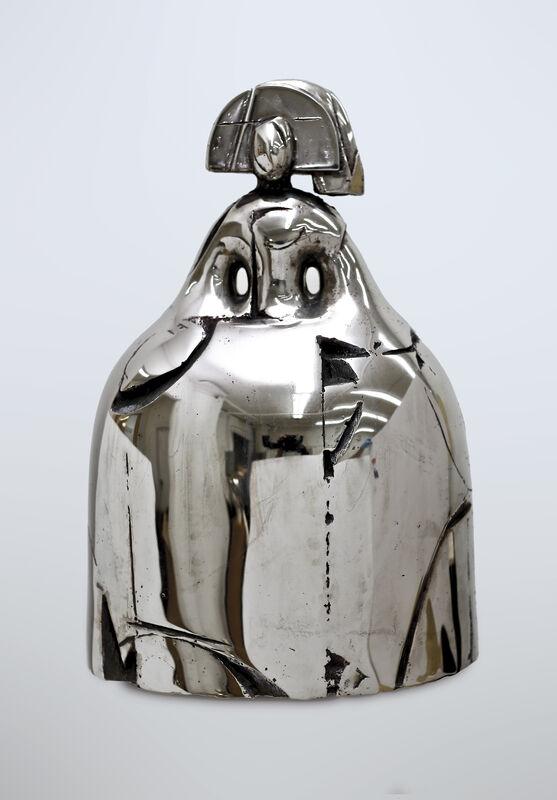 Manolo Valdés, 'Reina Mariana', 2017, Sculpture, Bronze with silver patina, Opera Gallery