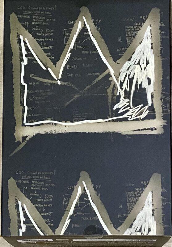 Jean-Michel Basquiat, 'Basquiat Bearbrick 400% Companion (Basquiat BE@RBRICK)', 2021, Ephemera or Merchandise, Cast vinyl figure, Lot 180