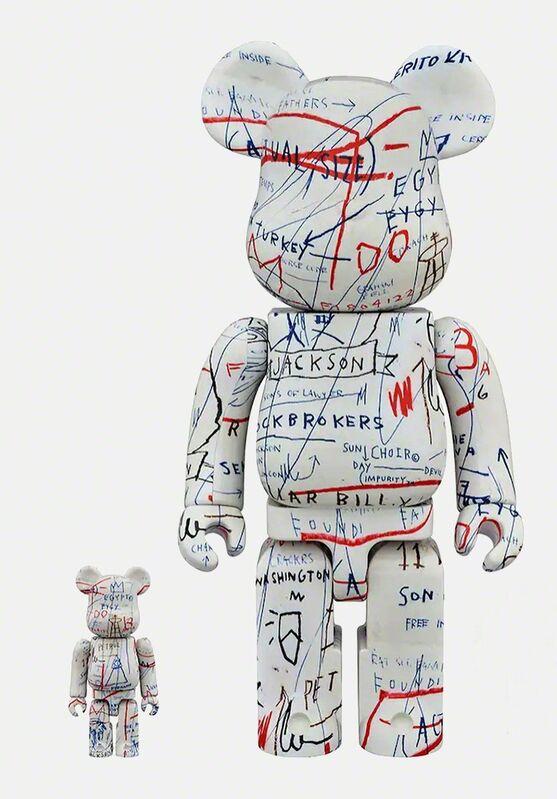 Jean-Michel Basquiat, 'Basquiat Bearbrick 400% Companion (Basquiat BE@RBRICK)', 2018, Ephemera or Merchandise, Vinyl figurine, Lot 180