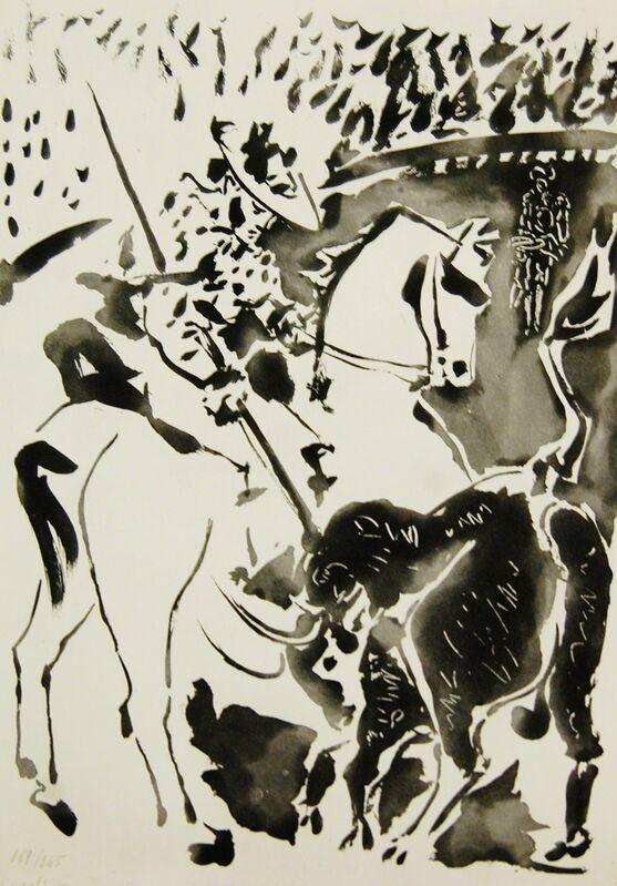 Pablo Picasso, 'Picador et Taureau (Picasor and Taurus)', 1949, Reproduction, Aquatint on Arches paper, Baterbys