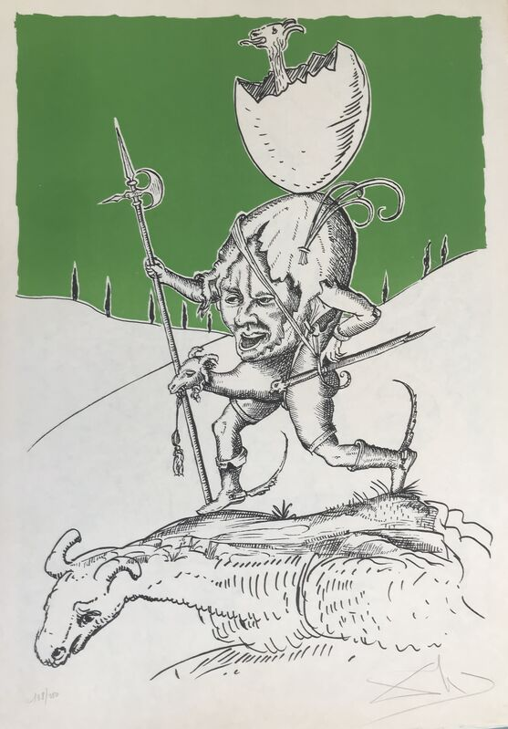 Salvador Dalí, 'Jason', 1973, Drawing, Collage or other Work on Paper, Lithograph, Dali Paris