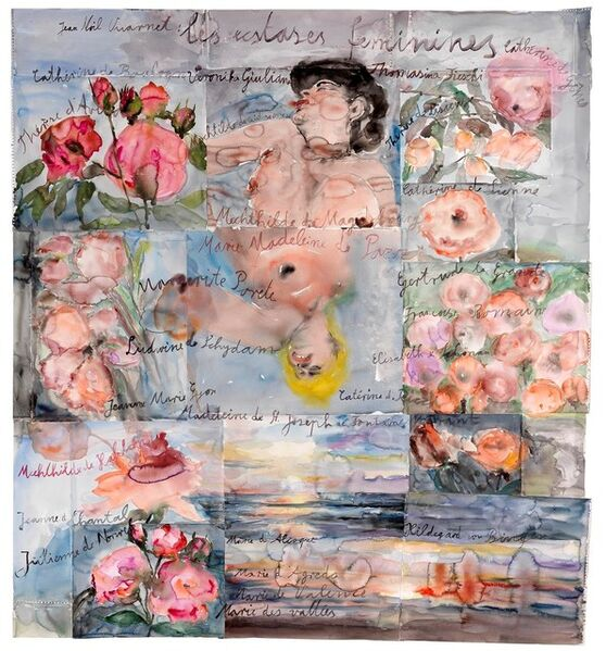 Anselm Kiefer, 'Les extases féminines (The Feminine Ecstasies)', 2013