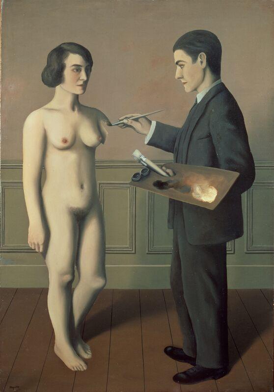 René Magritte, 'Tentative de l'impossible', 1928, Painting, Oil on canvas, Centre Pompidou