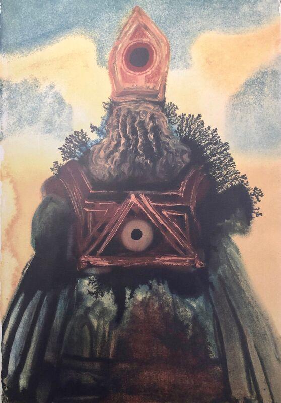 Salvador Dalí, 'The Ark Of The Covenant, 'Arca Foederis', Biblia Sacra', 1967, Print, Original Lithograph, Inviere Gallery