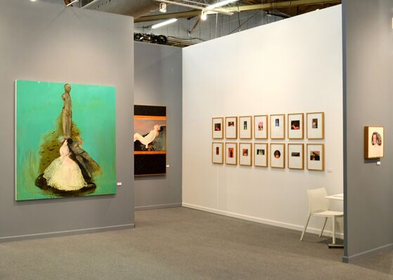 Coates & Scarry at CONTEXT New York 2016, installation view