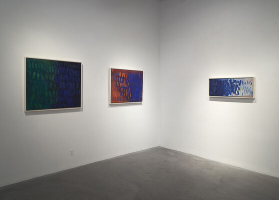 Yvonne Thomas | Windows and Variations | Paintings from 1963 - 1965, installation view