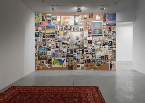 Friedrich Kunath - Book launch & Mood Board, installation view