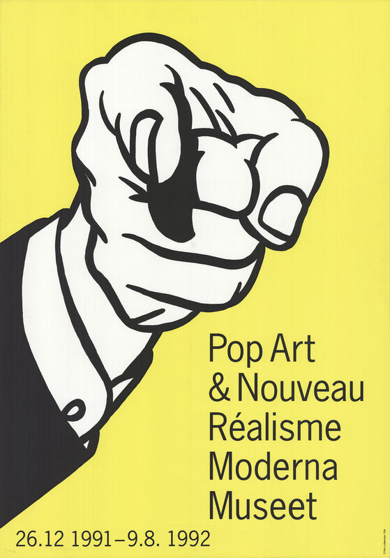 Roy Lichtenstein, 'Pointing Finger', 1992, Ephemera or Merchandise, Stone Lithograph, ArtWise