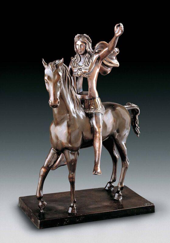 Salvador Dalí, 'Surrealist Warrior', 1971, Sculpture, Bronze lost wax process, Dali Paris