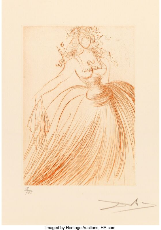 Salvador Dalí, 'Much Ado about Shakespeare Portfolio', 1968, Other, Engravings on Rives BFK paper, with full margins, Heritage Auctions