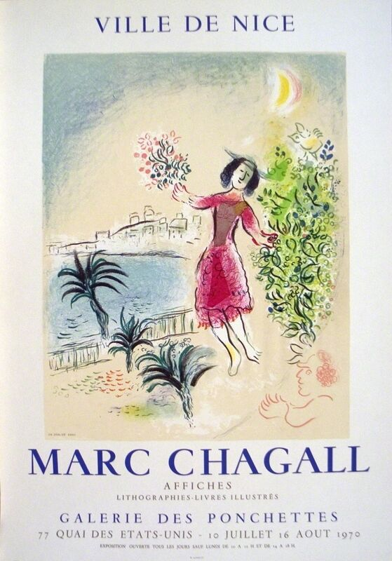 Marc Chagall, 'Bay of Nice', 1970, Print, Lithograph, ArtWise