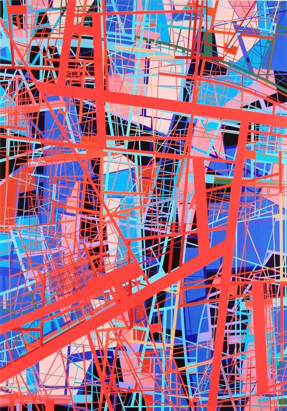 Michael Braden, 'Dance Girl, Dance', 2015, Painting, Acrylic on panel, William Turner Gallery