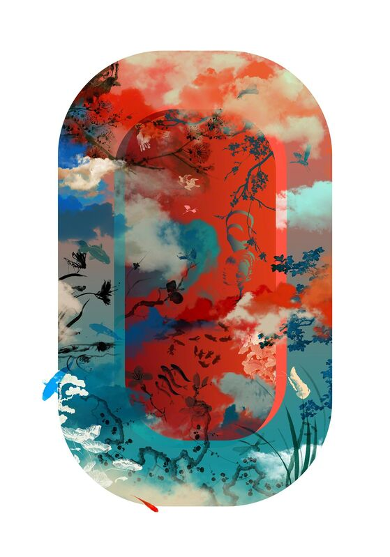 Guang-Yu Zhang, 'Mirrorland 01L', 2019, Print, Pigment Print UV Print on Fine Art Paper, A.Style