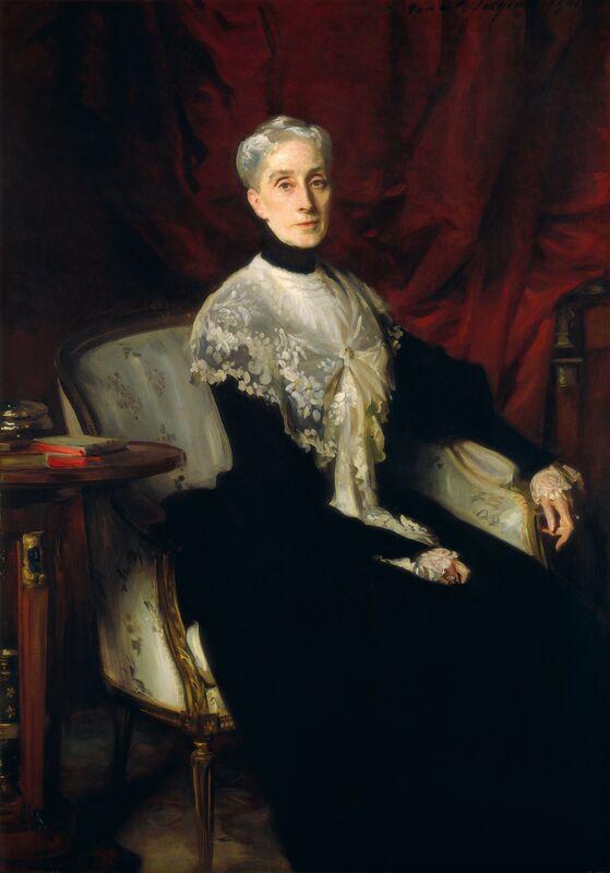 John Singer Sargent, 'Ellen Peabody Endicott (Mrs. William Crowninshield Endicott)', 1901, Painting, Oil on canvas, National Gallery of Art, Washington, D.C.